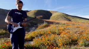 Ryan rocking in a field of poppies